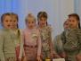Lasteaia Potsataja meeskond (tüdrukud Kalakeste ja Mesimummude rühmast) Lõbusate ja Leidlike Klubis lasteaias Pingviin 2.märtsil 2016.